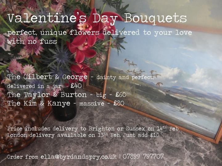 Byrd & Spry Valentines Flier 2014