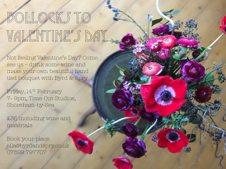 Bollocks to Valentines Day workshop