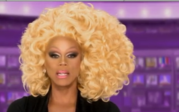 Ru Paul Big Hair Realness
